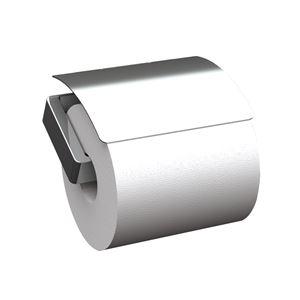 ペーパーホルダー/建築金物 【R1905】 カッター:研磨 逆勝手に付け替え可 〔業務用 建材 トイレ器具〕 - 拡大画像