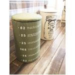 収納スツール/ランドリーバスケット 【グリーン】 高さ58cm クッション付きフタ 『オープンランドリー』