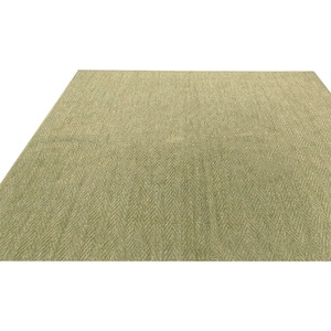 フリーカット・抗菌・防臭カーペット/絨毯 【江戸間2畳 176×176cm】 グリーン 平織り 『シアトル』 - 拡大画像
