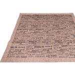 ラグマット 絨毯 / 185×185cm ベージュ / 正方形 接触冷感 ストライプ柄 キルティング 洗える 『ストライプブルックリン』 九装