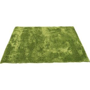 カーペット ラグ 敷物 室内 芝生ラグ 190×190cm グリーン オーシャン