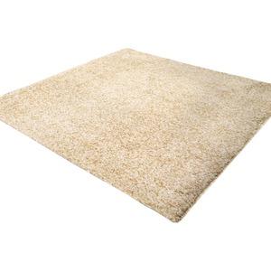 カーペット ラグ 敷物 室内 芝生ラグ 190×240cm ベージュ オーシャン