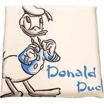 ディズニー ドナルド クッション 40×40cm アイボリー ドナルド手描き風 柄