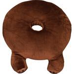 円座 かわいい 脚付き 直径40cm ブラウン