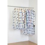 ティッシュ式洋服カバー30枚セット(キャットフラワー柄)
