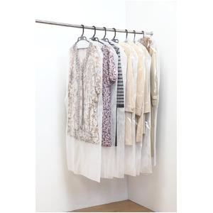 洋服カバー50枚セット(ロングサイズ) - 拡大画像