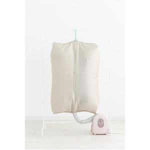 洗える衣類乾燥袋 ベージュ - 拡大画像