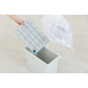 ゴミ箱用強力消臭&除湿シート - 拡大画像