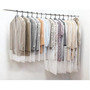 洋服カバー20枚セット(ショート15枚・ロング5枚) - 拡大画像