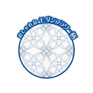 ティッシュ式洋服カバー(モダンフラワー柄)
