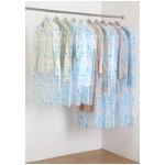 ティッシュ式洋服カバー50枚セット(ナチュラルバード柄)
