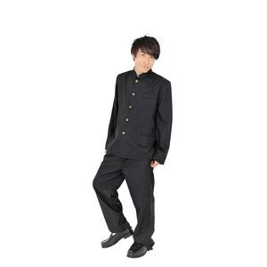 コスプレ衣装/パーティーグッズ 【学ラン メンズ】 仮装 イベントグッズ 舞台小物の画像