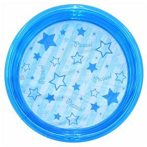 ビニールプール 【円形 ブルー】 直径100cm 重さ1200g 塩化ビニール製 〔水遊び〕 - 拡大画像