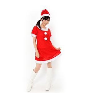 【コスプレ衣装/パーティーグッズ】 サンタワンピースの画像