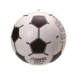 ビーチボール 35cm サッカー 【2個セット】 - 拡大画像
