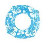 浮輪 70cm 蛍光カラー ブルー