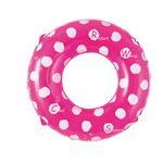 浮輪 80cm 蛍光カラー ピンク