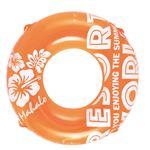 浮輪 100cm 蛍光カラー オレンジ