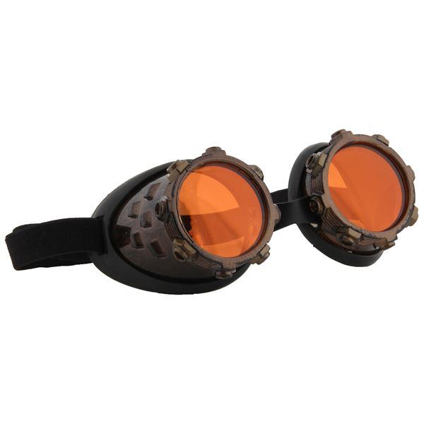 ELOPE CyberSteam Goggles ゴールド/オレンジ GLD/ORG(サイバースチーム ゴーグル)
