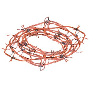 (まとめ)SUNSTAR Barbed Wire-Rusted(さびた有刺鉄線)【×3点セット】 - 拡大画像