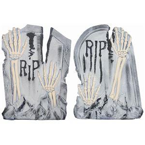 SUNSTAR Tombstone w/Crawing Skeleton Hands(骸骨の手の墓石) - 拡大画像