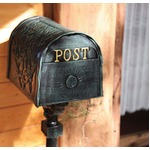 アンティーク 自立式 メールボックス 13034 〔ヨーロッパ風/スタンディング/ポスト/郵便受け〕