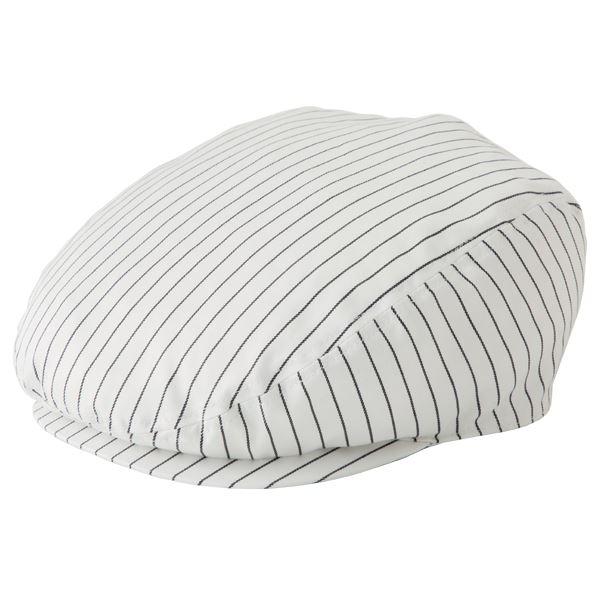 ストライプハンチング帽子 ホワイト KMCH2961-21