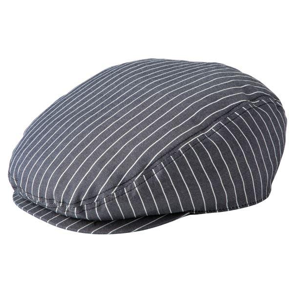 ストライプハンチング帽子 ブラック KMCH2961-23