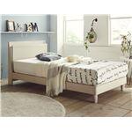 おすすめ すのこベッド 宮付き 二口コンセント付き スタイリッシュ 天然木 木製『Grade』ベッドフレーム
