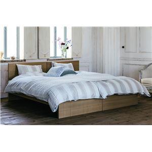 並べて使える タモ材 シンプルすのこベッド シングル (フレームのみ) ナチュラル 『Spina』 床高2段階調整可 ベッドフレーム - 拡大画像