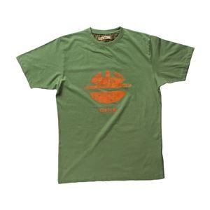 DIKE(ディーケ) 92131/500-S Tシャツ タイディ モスグリーン S