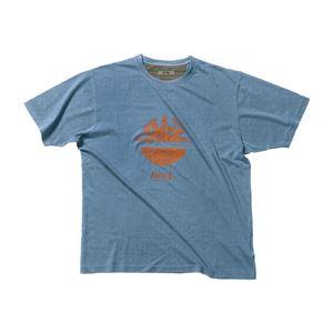 DIKE(ディーケ) 92131/805-L Tシャツ タイディ サックスブルー L