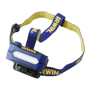 IRWIN(アーウィン) 5W COBLED ヘッドライト 400LUMENS 2011888 - 拡大画像