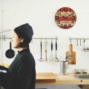 モチーフクロック/壁掛け時計 【Lサイズ/コインブラ】 直径33cm