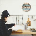 モチーフクロック/壁掛け時計 【Lサイズ/メルボルン】 直径33cm
