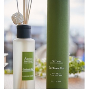 アロマリードディフューザー 「A-ROMA」 L Gardenia Bud - 拡大画像