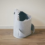 折りたたみフェルトストレージ shark(シャーク) ライトグレー