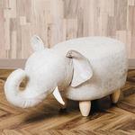 アニマルモチーフのスツール Elephant(エレファント)ベージュ