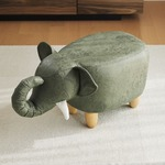 アニマルモチーフのスツール Elephant(エレファント)カーキ