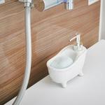 ソープディスペンサー「bathtub(バスタブ)」ホワイト
