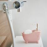 ソープディスペンサー「bathtub(バスタブ)」ピンク