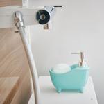 ソープディスペンサー「bathtub(バスタブ)」ブルー