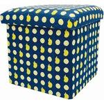 SCANDINAVIAN FOREST 座ってしまえて畳める便利ボックス レモン