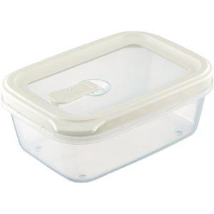 【60セット】 フードコンテナ/保存容器 【シールM ホワイト】 容量:約700ml 電子レンジ・食洗機対応可 『リベラリスタ』