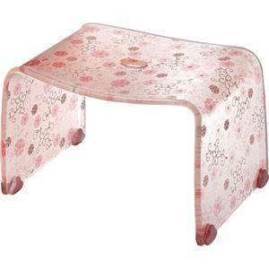 【4セット】リス フィルロ シュシュ バスチェアーS コーラルピンク かわいいバスチェア・風呂椅子