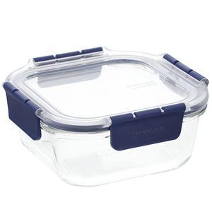 ロック&ロック トップクラス ガラス スクェア 750ml - 拡大画像