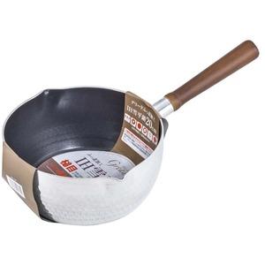 ベストコ グリード ふっ素加工 IH槌目雪平鍋 20cm ND-1421