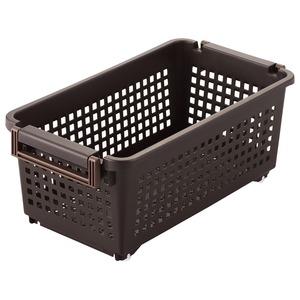 ベストコ Free storage ハンディーバスケット スリム ブラウン MA-2241