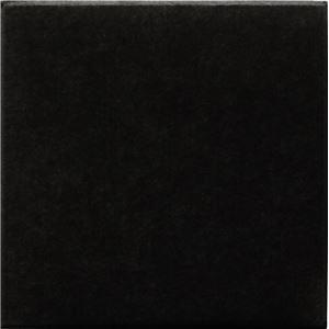 吸音パネル/防音フェルトボード 【30×30cm 同色2枚組/ブラック】 45度カット 簡単取り付け