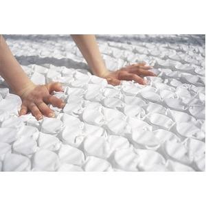 【日本ベッド】 ポケットコイルマットレス 【ウール入り ハード/セミダブルサイズ】 日本製 『シルキーポケット』